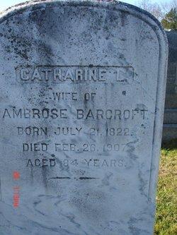 Catharine <i>Larison</i> Barcroft