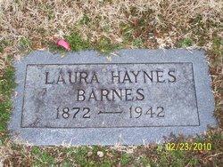 Laura <i>Haynes</i> Barnes