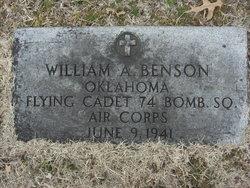 William Alfred Bill Benson