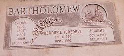 Berniece <i>Teasdale</i> Bartholomew