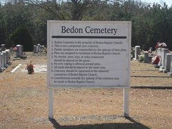 Bedon Baptist Church Cemetery