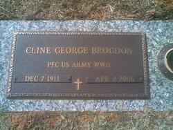PFC Cline George Brogdon