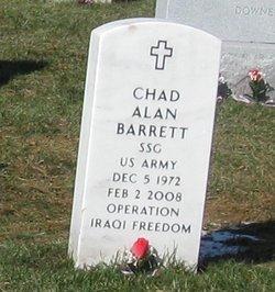 Sgt Chad A Barrett