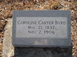 Caroline <i>Carter</i> Byrd