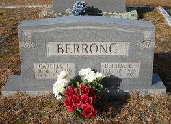 Bertha E Berrong
