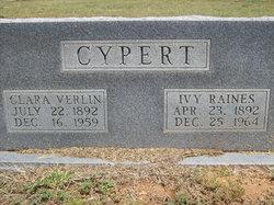 Clara Verlin <i>Stovall</i> Cypert