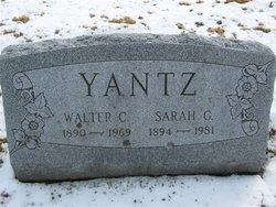 Sarah Gertrude <i>Prior</i> Yantz