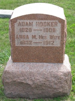 Anna M <i>Engel</i> Hocker