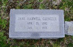 Jane O. <i>Harwell</i> Glentzer