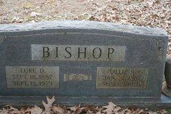 Lillie <i>Lanier</i> Bishop