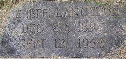 E. Eff Langston