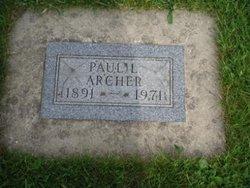Paul Leslie Archer