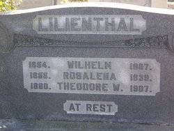 Theodore W Lilienthal
