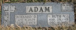 Ruth V <i>Brogan</i> Adam