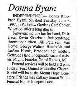 Donna Byam