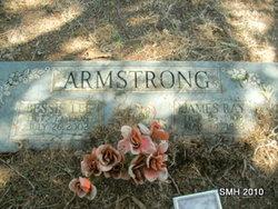 Bessie Lee <i>James</i> Armstrong