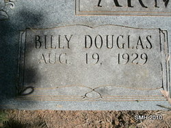 Billy Douglas Bill Armstrong