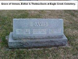 Thelma E <i>Beaman</i> Davis