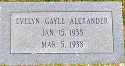 Evelyn Gayle Alexander