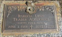 Roberta Lynn <i>Trader</i> Ackerman