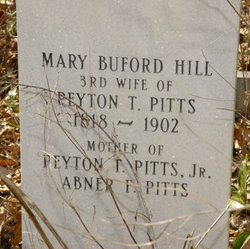 Mary Buford <i>Hill</i> Pitts