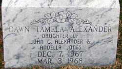 Dawn Tamela Alexander