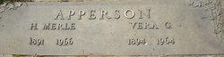 Vera G. Apperson