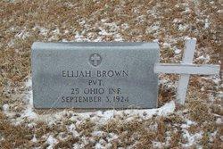 Pvt Elijah Brown
