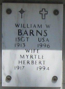Myrtle <i>Herbert</i> Barns