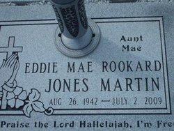 Eddie Mae Rookard <i>Jones</i> Martin