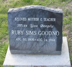 Ruby <i>Sims</i> Goodno