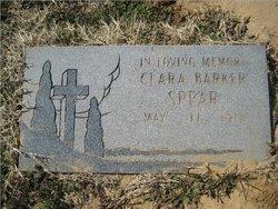 Clara Ellen <i>Holloway</i> Barker Spear