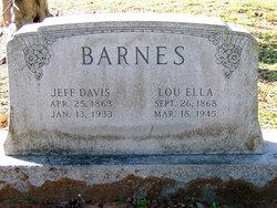 Jefferson Davis Barnes