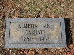 Almetia Jane Cashatt