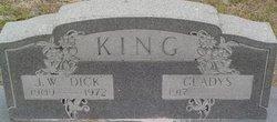 J W Dick King
