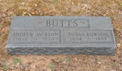 Andrew Jackson Butts
