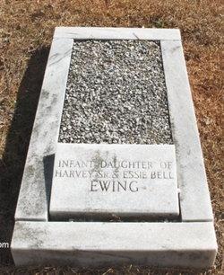 Infant Daughter Of Harvey & Essie Bell Ewing