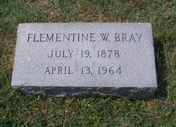 Mrs Flementine <i>Welch</i> Bray