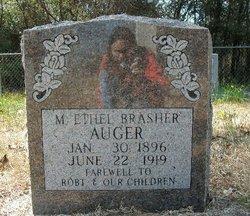 M. Ethel <i>Brasher</i> Auger