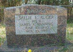 Sallie E. <i>Auger</i> Manning