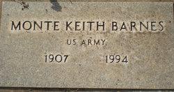 Monte Keith Barnes