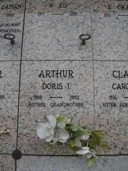 Doris Irene <i>Baker</i> Arthur