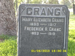 Frederick R. Crang