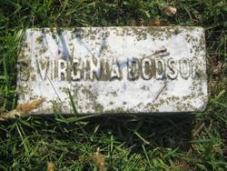 Salina Virginia <i>Barnett</i> Dodson