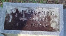 Ida E <i>Barringer</i> Browning