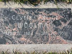 Clytee Eola <i>Exline</i> Woolman
