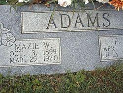 Mazie <i>Wortman</i> Adams