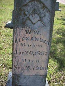 W.W. Alexander