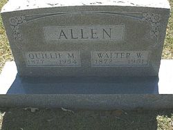 Quilla Myrtle Quillie <i>McDonald</i> Allen