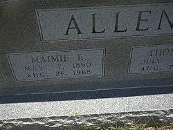 Maimie Edna <i>Gunter</i> Allen